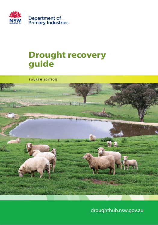 Cover of drought recovery guide
