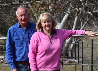 Greg and Susan Crowe bought their central west property four years ago