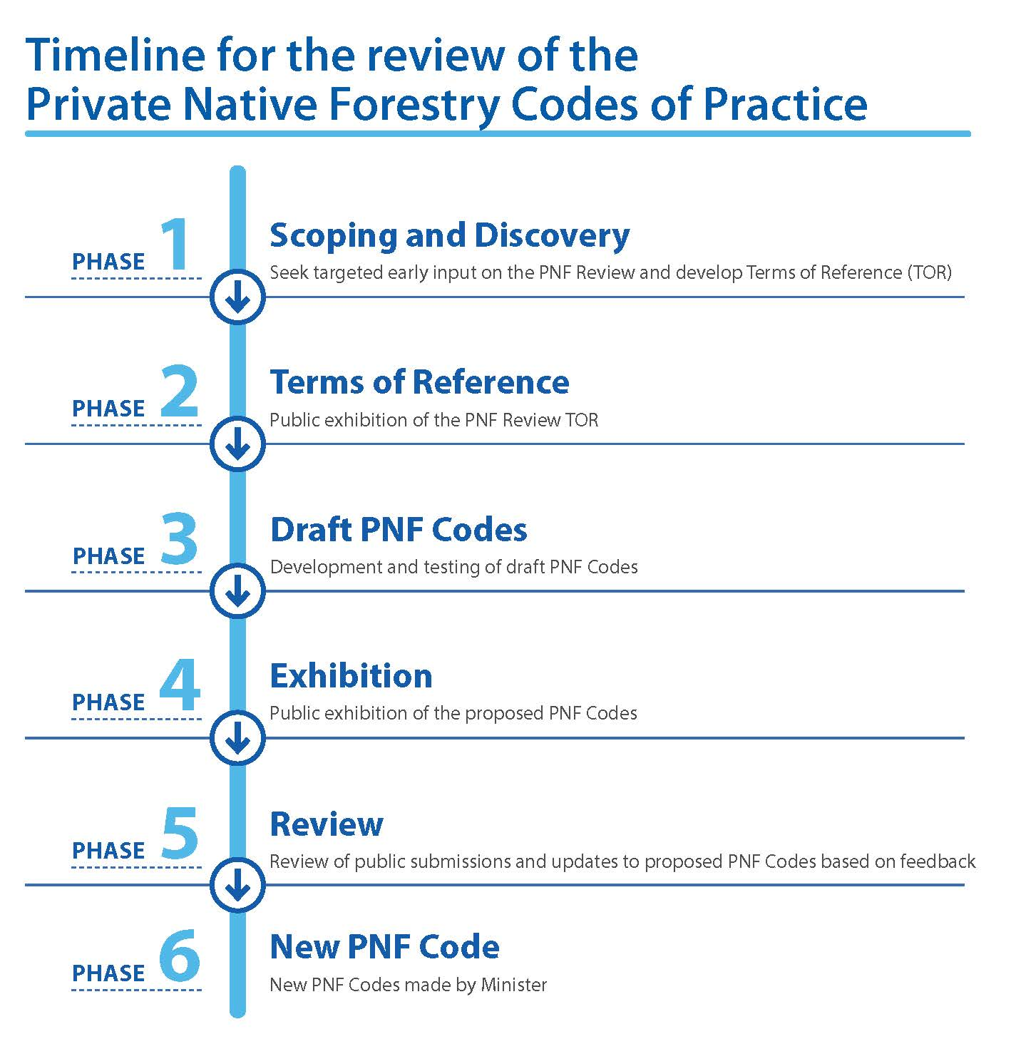 PNF Review - Timeline