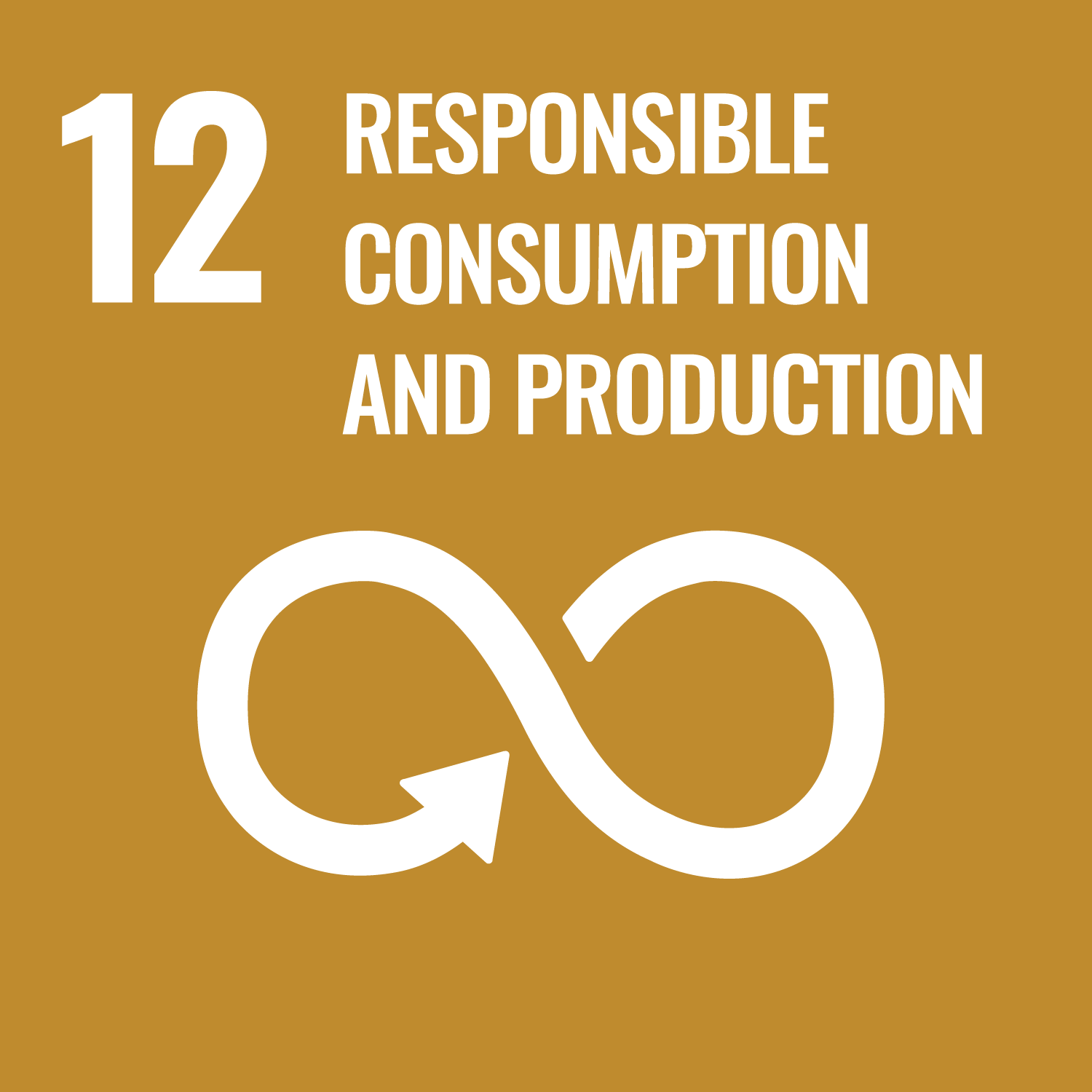 Goal 12 icon - Responsible consumption and production