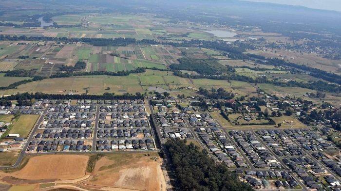 Development creates a peri-urban fringe