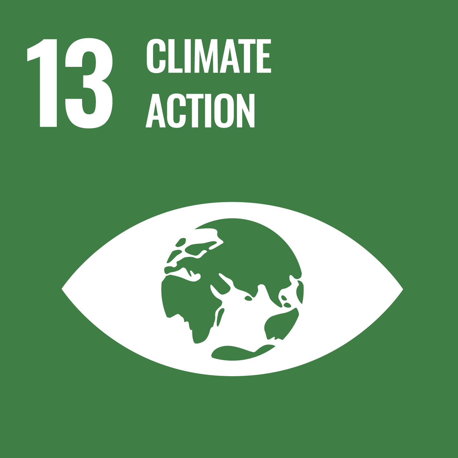 Goal 13 icon - Climate action
